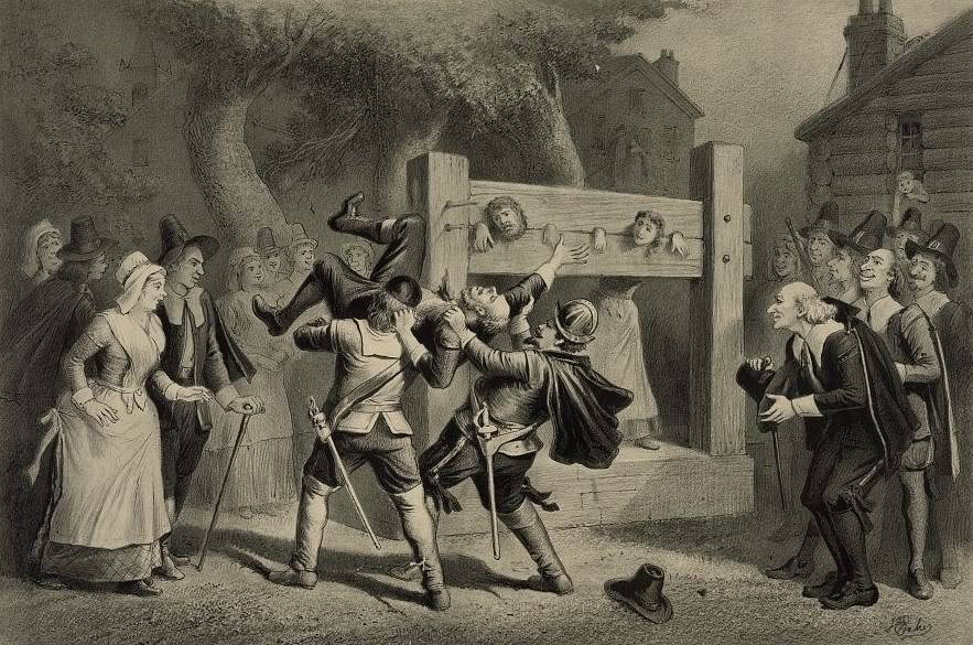 the salem witch trials as a dark chapter in american history Chapter two teaching the salem witch trials benjamin c ray e arly in 1692  few episodes in american history have gripped the imagination as powerfully as the.
