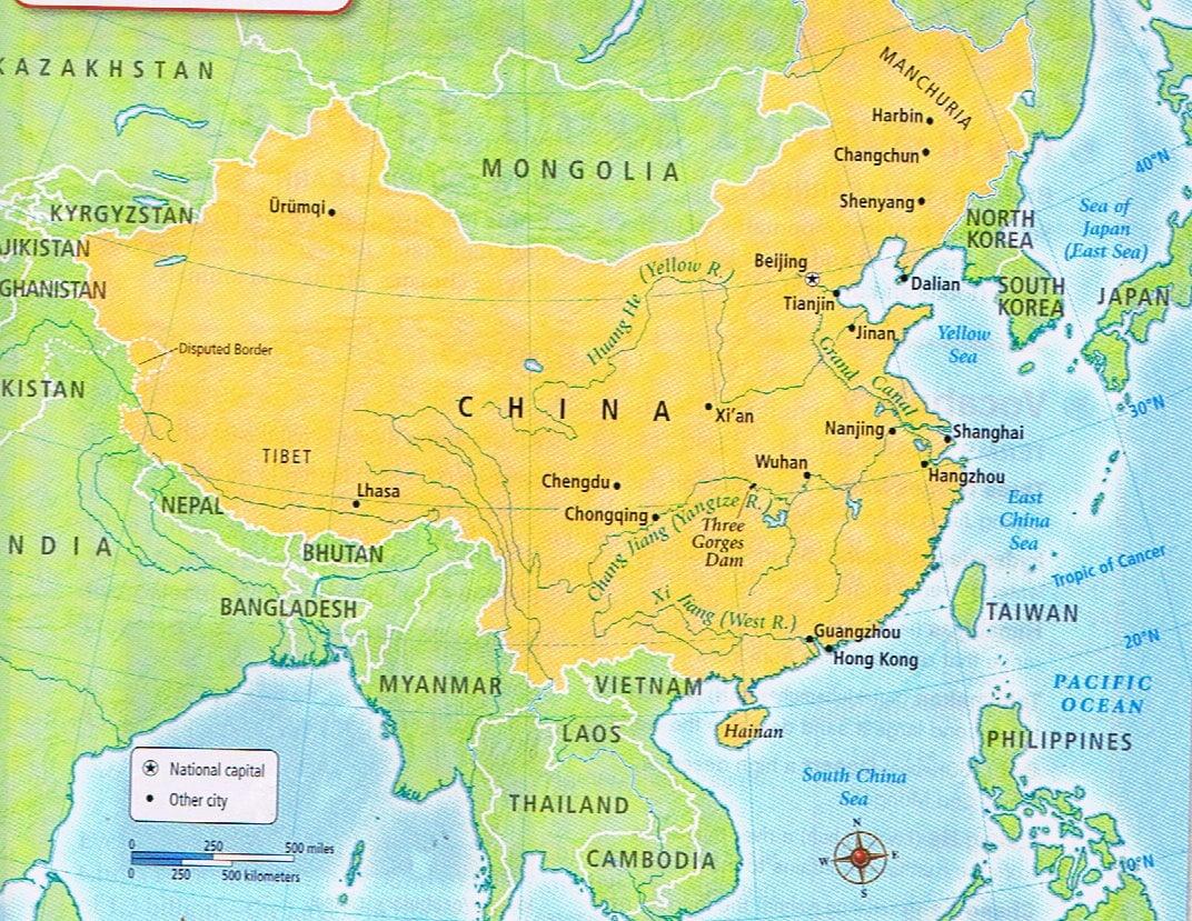 China Unit Test - ProProfs Quiz