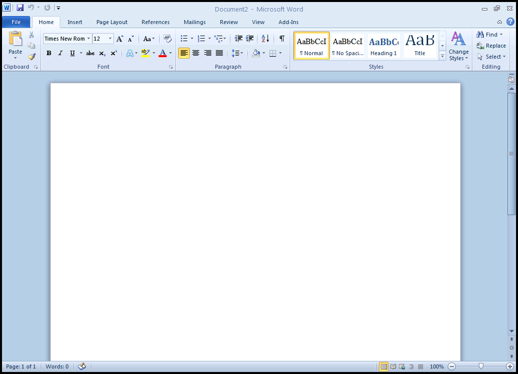 ms word 2010 Collaborate for free with online versions of microsoft word, powerpoint, excel, and onenote save documents, spreadsheets, and presentations online, in onedrive.