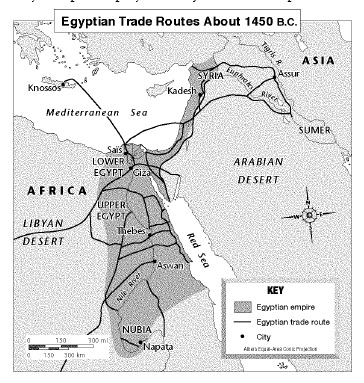 Ancient Egypt And Nubia Test ProProfs Quiz - Map of egypt and nubia