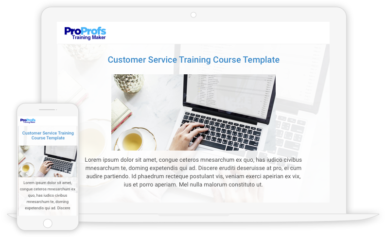 Create Customer Service Training Programs with Templates