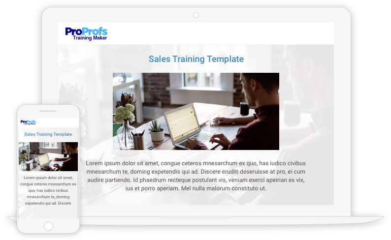 Sales Training Course Template