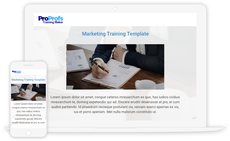 Create Marketing Training Programs with Templates